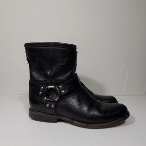 Women's Frye Phillip  harnes ankle  boots